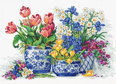 B2386 Весенние цветы (Luca-S)