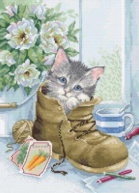B2391 Милый котёнок