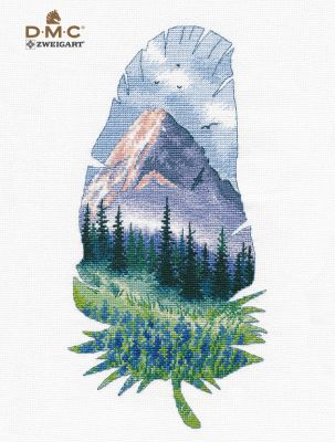 1402 Горный пейзаж-2 (Овен)