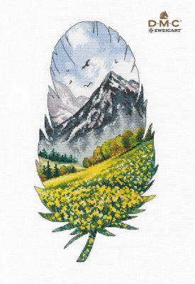 1401 Горный пейзаж-1 (Овен)