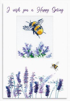 Фото - Набор для вышивания Luca-S (S)P-106 Набор для изготовления открытки набор для вышивания luca s s p 84 набор для изготовления открытки розовая магнолия