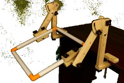 Пяльцы Серёга-Мастер Универсальный держатель пялец, рам, Q-снапов (ДНС)