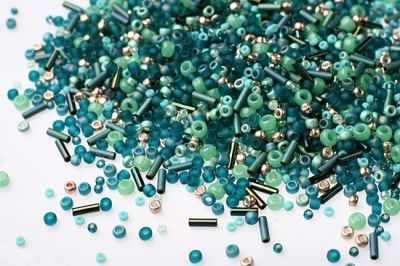 Бисер TOHO №3222 бирюзовый MIX 2