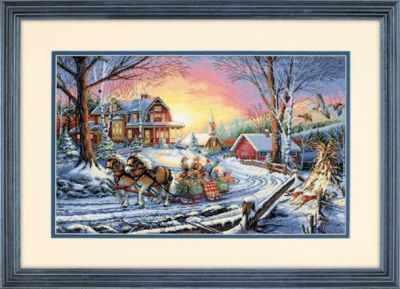Набор для вышивания Dimensions 35208-DMS Зимние радости