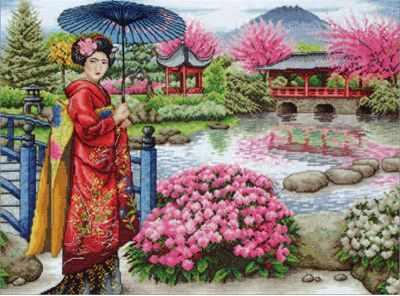 5678-1024 Японский сад MAIA - Наборы для вышивания «MAIA»