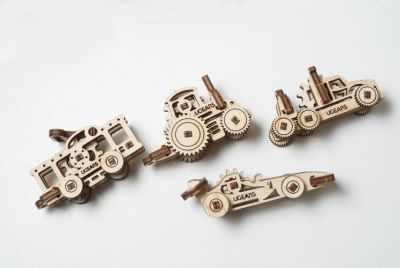 70033 3D-пазл механический - Фиджет Транспорт