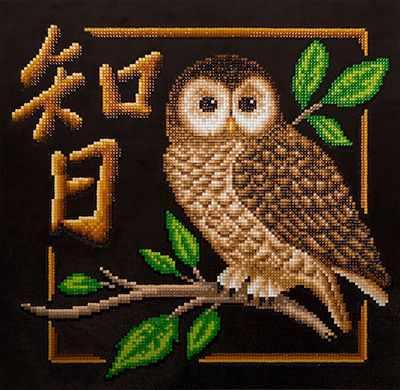 """Купить со скидкой ALVR-10 Кристальная мозаика (алмазная вышивка) 029 """"Иероглиф Мудрость"""""""