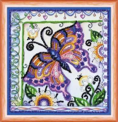 АМ-144 Бабочка в цветах - Наборы для вышивания «Абрис-Арт»