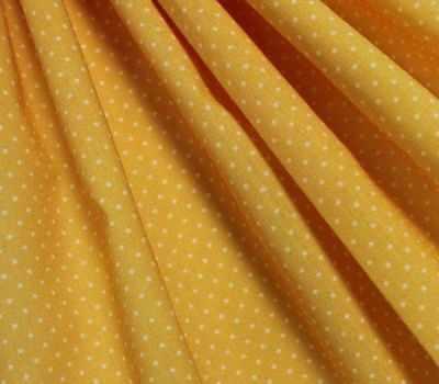 """AM555028 Ткань """"Мелкий горошек"""", цвет рыжий"""