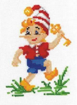 Фото - Набор для вышивания Сделай своими руками Б-10 Буратино зайцев в б куклы своими руками