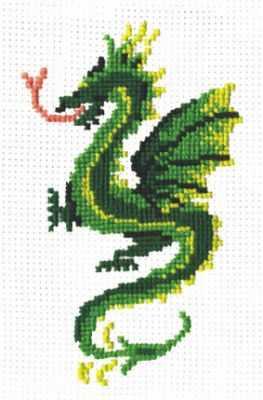 Набор для вышивания Сделай своими руками Д-07 Дракон