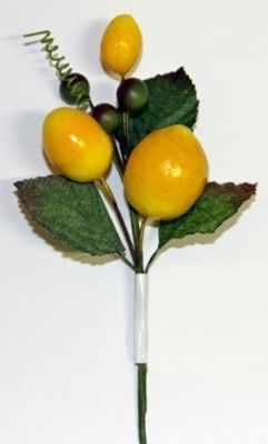 DKB006 Декоративный букетик Рукоделие C желтыми ягодами