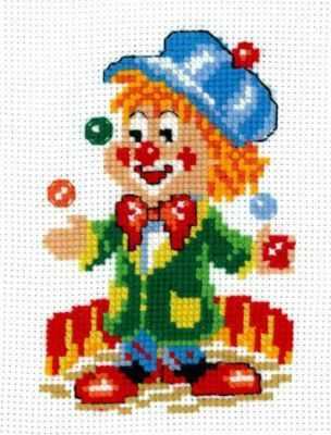 Набор для вышивания Сделай своими руками К-06 Клоун