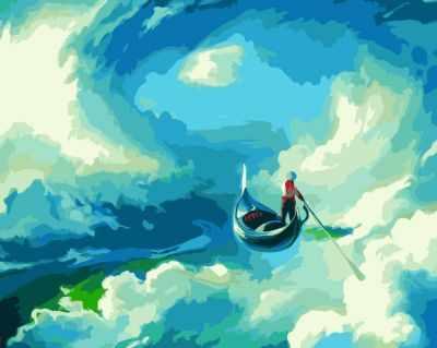 K006 А. Чебоха. Источник вдохновения - Раскраски «Русская живопись»
