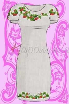 Заготовка для вышиванки Каролинка КБС/пл/-01 Заготовка для вышивки платья (Каролинка)