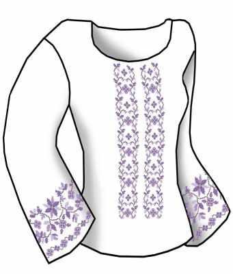 Заготовка для вышиванки Каролинка КБСН/хб/-08 Набор для вышивания сорочки (Каролинка)