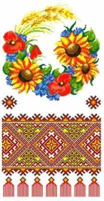 КРКН 2010 - набор рушник (Каролинка)