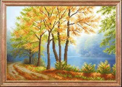 КС-008 Осенний туман  Магия канвы - Рисунки на ткани «Магия канвы»