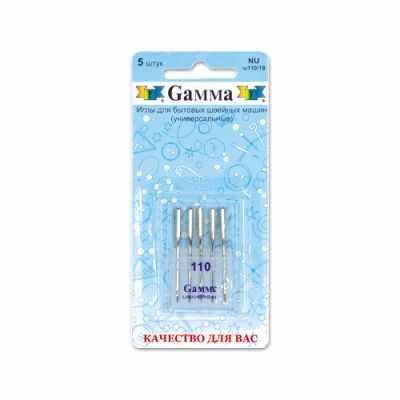 Иглыбулавки Gamma NU №110 Иглы для быт.шв.машин