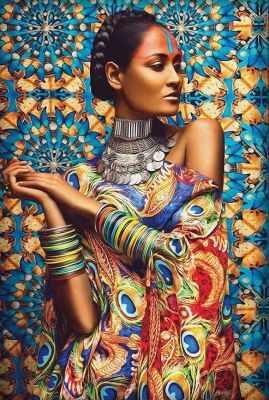 Фото - Алмазная мозаика Алмазная живопись Алмазная вышивка Обворожительная Иара (АЖ-1553) - картина стразами алмазная мозаика алмазная живопись алмазная вышивка львиный прайд аж 1399 картина стразами