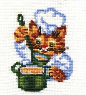 Набор для вышивания Сделай своими руками П-09 Поварёнок кашин с п сост обустройство участка своими руками
