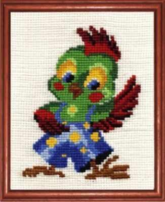 Набор для вышивания Сделай своими руками П-13 Попугай Кеша кашин с п сост обустройство участка своими руками