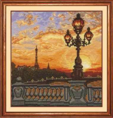 Набор для вышивания Сделай своими руками П-23 Парижский вечер