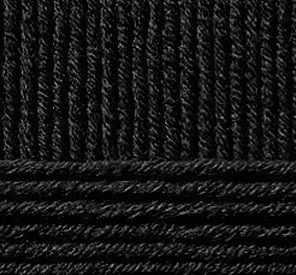 цена на Пряжа Пехорка Пряжа Пехорка Зимняя премьера Цвет.02 Черный