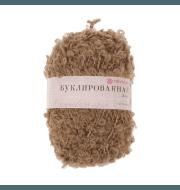 Пряжа Пехорка Буклированная Цвет.377 Кофейный