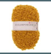 Пряжа Пехорка Буклированная Цвет.447 Горчица