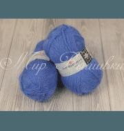 Пряжа Пехорка Великолепная Цвет.520 Голубая пролеска