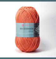 Пряжа Пехорка Весенняя Цвет.285 Морковь