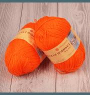 Пряжа Пехорка Детская новинка Цвет.284 Оранжевый