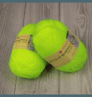 Пряжа Пехорка Детская новинка Цвет.483 Незрелый лимон