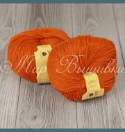 Пряжа Пехорка Детский каприз Цвет.284 Оранжевый