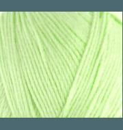 Пряжа Пехорка Хлопок натуральный Цвет.41 Салатовый
