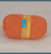 Пряжа Семеновская Светлана Цвет.Морковный 670