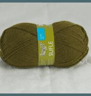 Пряжа Семеновская Суфле Цвет.Хаки 10938