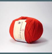 Пряжа Пехорка Детский каприз Цвет.88-Красный мак