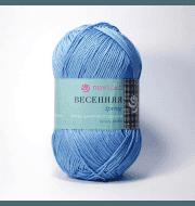 Пряжа Пехорка Весенняя Цвет.05 Голубой