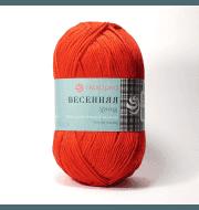 Пряжа Пехорка Весенняя Цвет.06 Красный