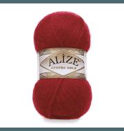 Пряжа Alize Angora Gold Цвет.106 Красный