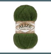 Пряжа Alize Angora Gold Цвет.118 Зеленая трава
