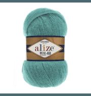 Пряжа Alize Angora Real 40 Цвет.570 Бирюзовый