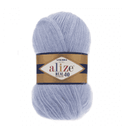 Пряжа Alize Angora Real 40 Цвет.40 Голубой