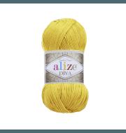 Пряжа Alize Diva Цвет.110 Желтый