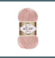 Пряжа Alize Diva Цвет.145 Св.пудра