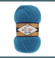 Пряжа Alize Angora Real 40 Цвет.16 Голубая бирюза