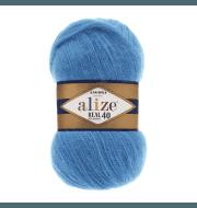 Пряжа Alize Angora Real 40 Цвет.245 Синяя бирюза