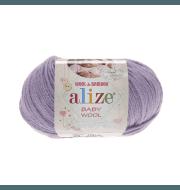 Пряжа Alize Baby Wool Цвет.146 Лиловый